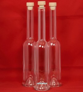 glass liqueur bottles