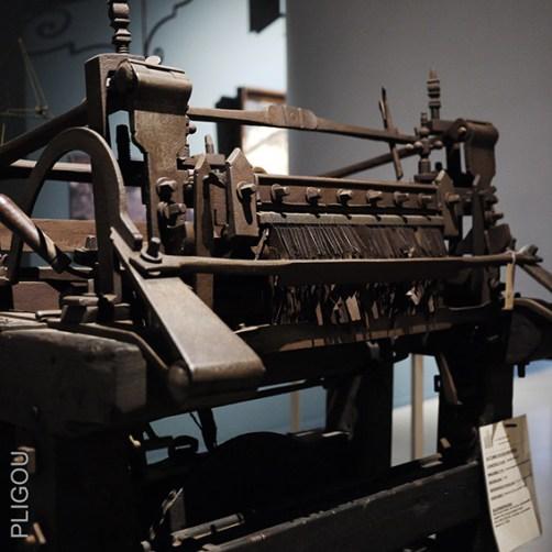 machine de william Lee, Breiatelier, Stedelijkemusea, Sint-Niklaas