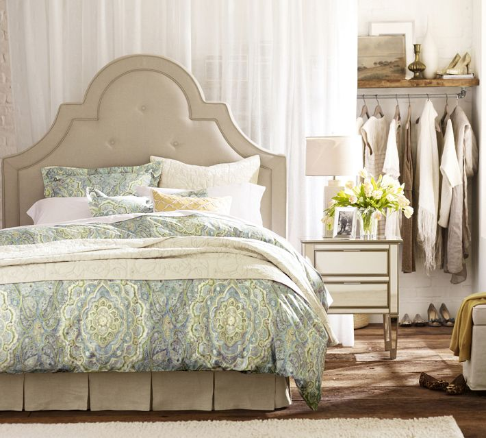 no-closet-organizing-ideas-potterybarn-bed