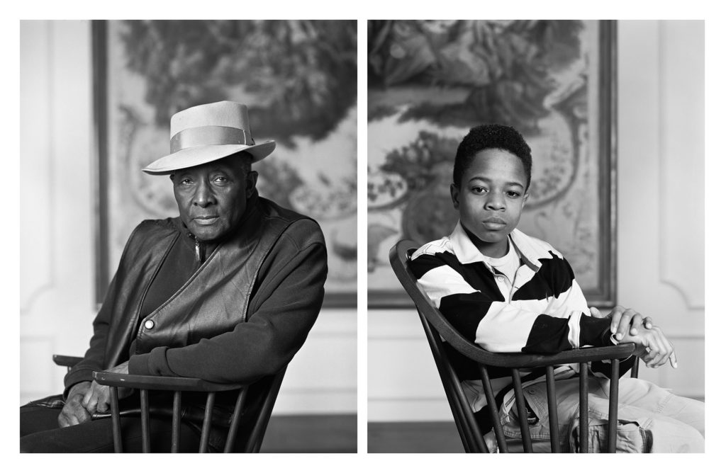 Dawoud Bey, Fred Stewart II and Tyler Collins, from the series The Birmingham Project, 2012