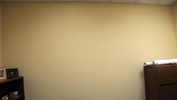 Empty Wall Office