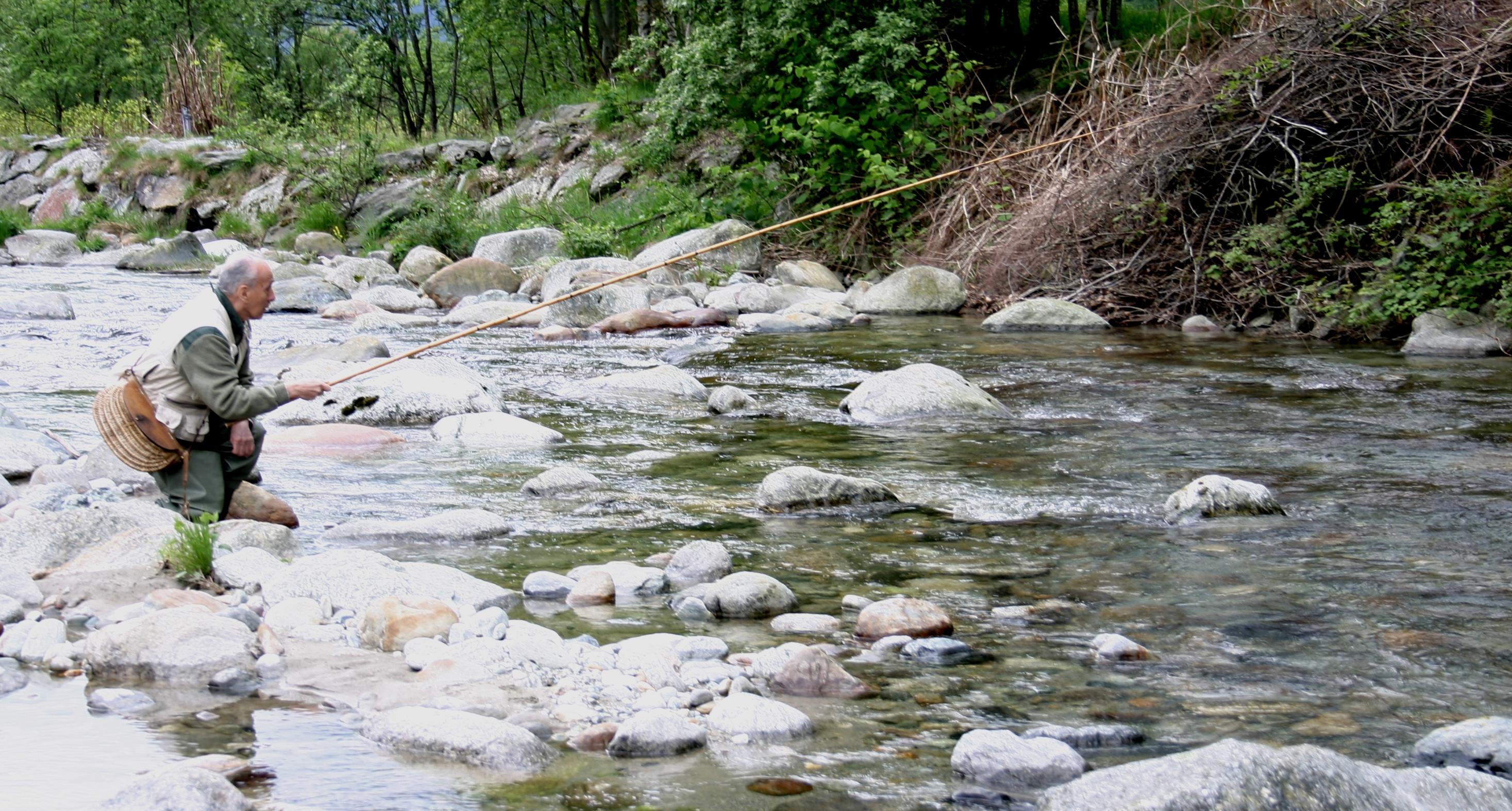 Figli dello stesso padre il fiume  A pesca col Muc
