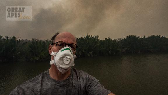 Gerry Ellis Borneo Kalimantan fires