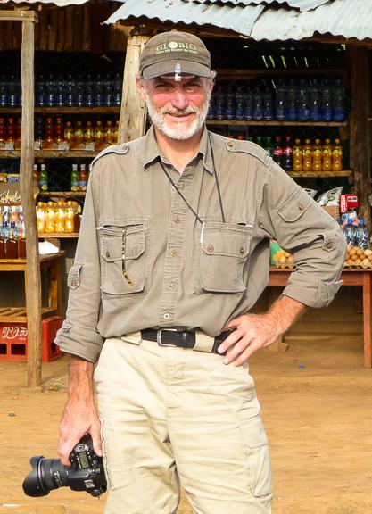 Gerry Ellis in Tanzania