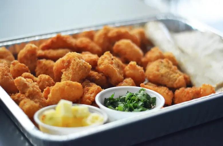 Go Fish con festival de mariscos para comer en casa