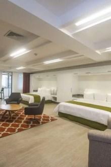 Hotel ofrece habitaciones para vivir
