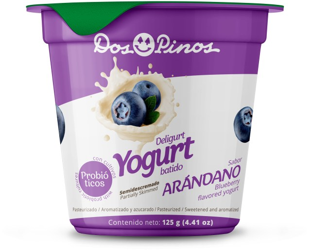 yogurt con dos nuevos sabores  Dos Pinos
