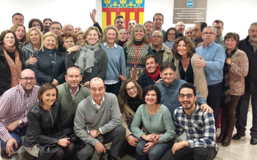 Charla sobre Bienestar Social con la consellera Asunción Sánchez y la alcaldesa Amparo Fogado