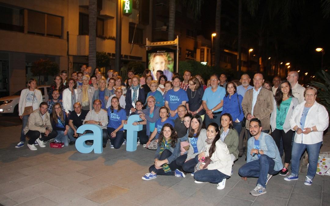 """Amparo Folgado inicia a """"peu de carrer"""" la campaña que asegura el bienestar y la estabilidad de los torrentinos"""