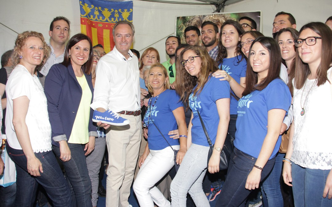 "El Presidente Fabra se suma ""A peu de carrer"" para continuar trabajando por Torrent y la Comunitat"