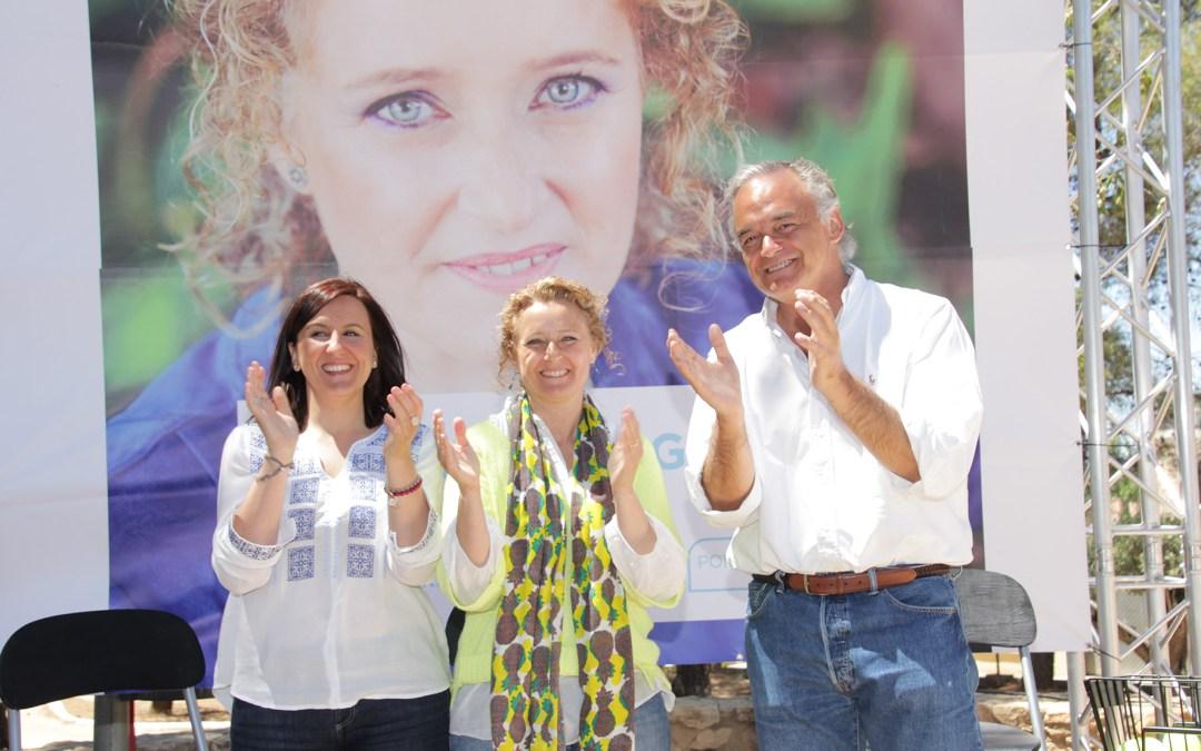 González Pons y M. José Català piden el voto para Amparo Folgado