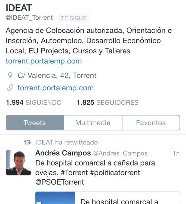 """El PP exige que """"el PSOE deje de hacer un uso partidista de la empresa municipal IDEAT en las redes sociales"""""""