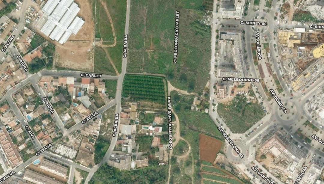 El PP pide que se una Parc Central y la Marxadella con un nuevo vial tras reunirse con sus vecinos