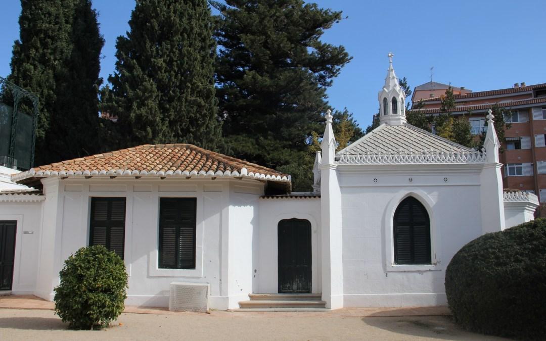 El PP denuncia la paralización durante dos años de la restauración de la capilla  de estilo neogótico del Trénor