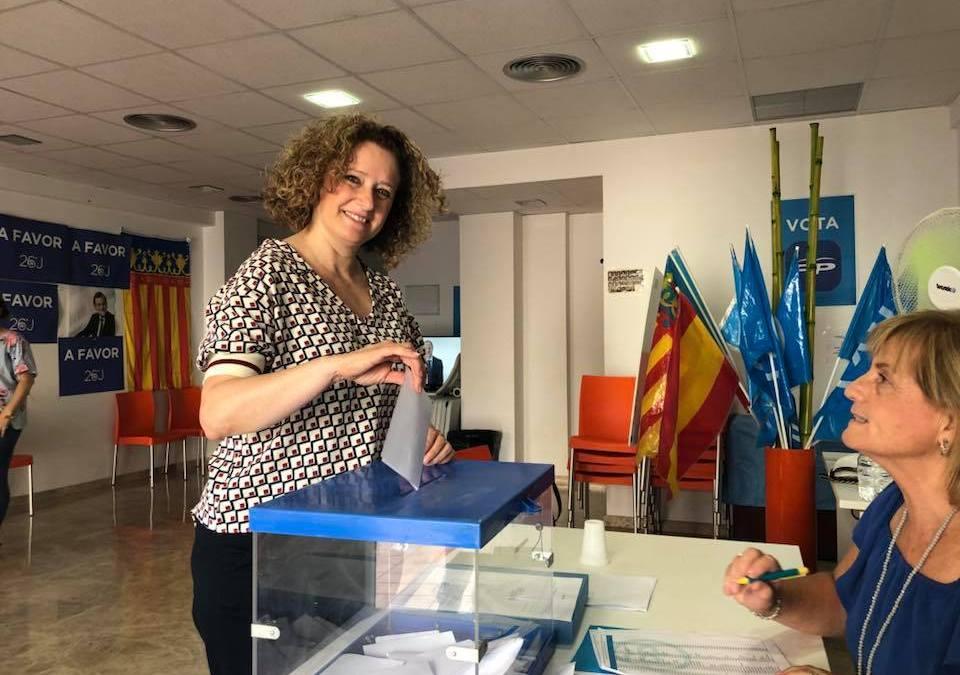 Resultados Primarias PP en Torrent para el 19 Congreso Nacional