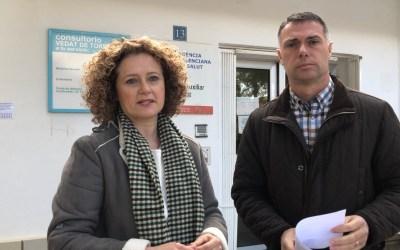 """Folgado: """"pido a la Consellería de Sanidad la ampliación del Centro Auxiliar del Vedat"""""""