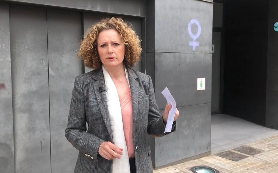 Folgado denuncia el desmantelamiento de la Casa de la Dona y la falta de atención a las mujeres que sufren violencia de género