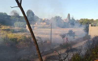 El PP pide que se recupere la zona quemada en el Azud del Pantano y se realice mantenimiento