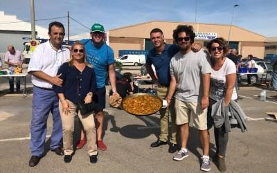 El PP colabora con una paella en el Día del Polígono organizado por la Asociación Empresarial de Torrent