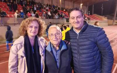 El PP con el CD Monte-Sión en la presentación de temporada