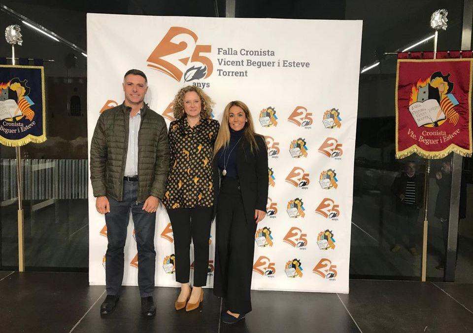 El PP felicita a la Falla Cronista por su 25 Aniversario