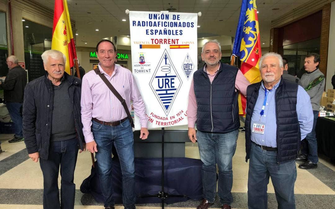 El PP asiste a la MercaRadio de la URE en Torrent