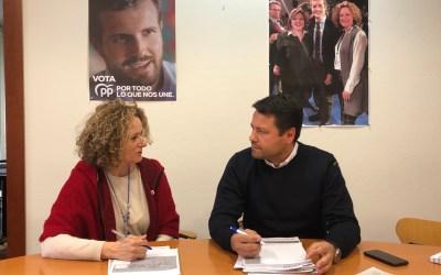 Folgado y Montero se reúnen para hablar de las inversiones pendientes por la Diputación en Torrent