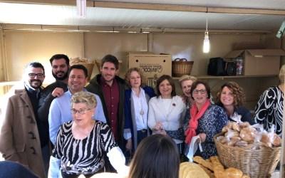 Isabel Bonig asiste a la fiesta de Sant Blai en Torrent