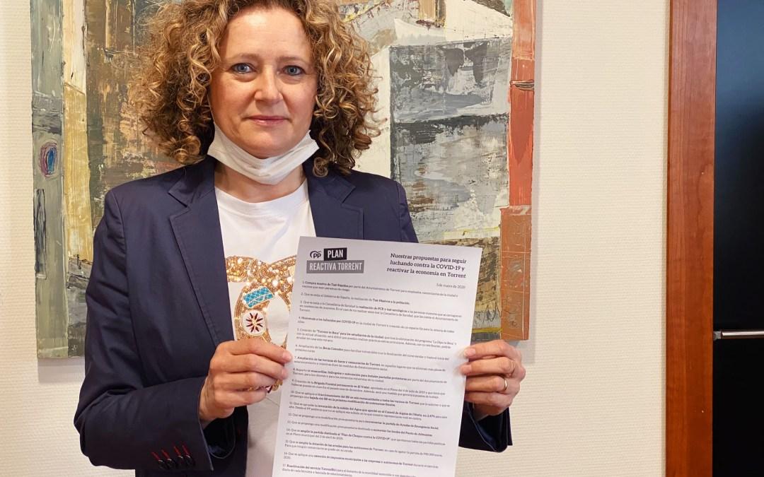 """El PP logra incluir en el PAM contra la COVID-19, la creación de """"Torrent te Beca"""" y una bolsa de empleo"""