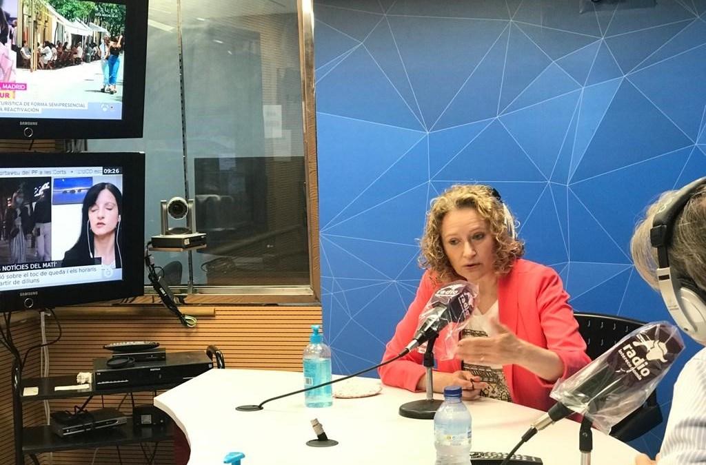 Vuelve a escuchar la intervención de Amparo Folgado en Radio Intereconomía (19 mayo)