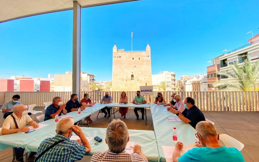 """El PP de Torrent crea el """"Consell dels Barris"""" y se reúne por primera vez con las asociaciones de vecinos"""