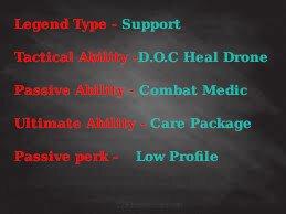 Lifeline Apex Legends  Abilities