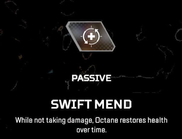 apex legends octane Passive abilities