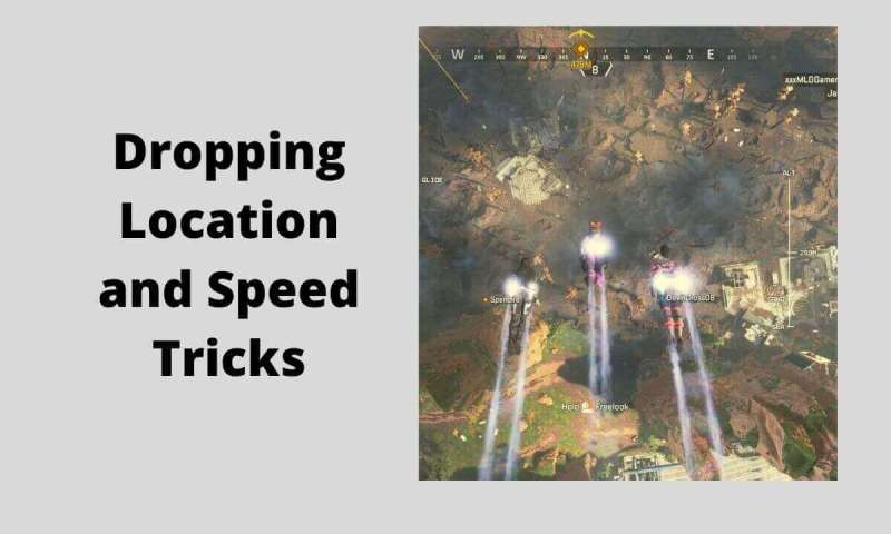 Dropping Location and Speed
