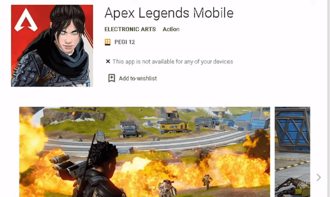 Register for Apex Legends Mobile for other than India and Philippins