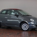 Fiat 500c Convertible 1 2 Lounge 2dr Dualogic Red Roof Parking Sensors Cruise Control Bluetooth Ay18oro Used Fiat 500 Fords Of Winsford
