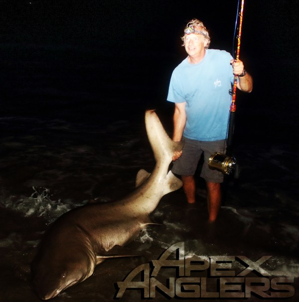 Chris with a legendary level 88 Sand Tiger.