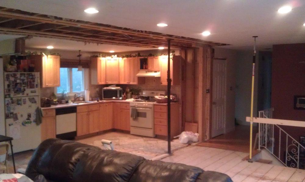 Apex Carpentry LLC Split Level Open Floor Plan Apex