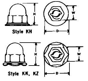 Washer/Capped Washer Type : Apex Fasteners
