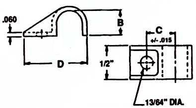 Heavy Duty Cable Clip : Apex Fasteners