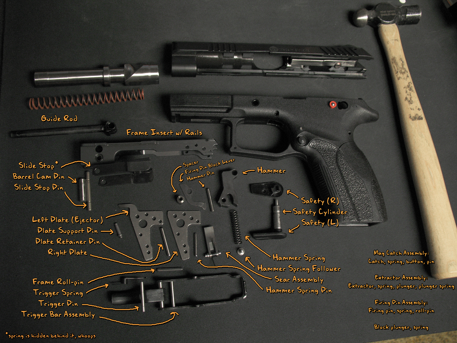 browning hi power parts diagram 2005 honda civic ignition wiring point 9mm carbine schematic get free image about