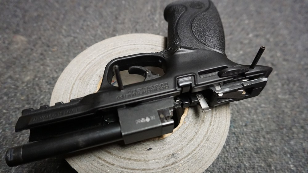 medium resolution of matching roll pins similar to the centerfire pistols can be snug