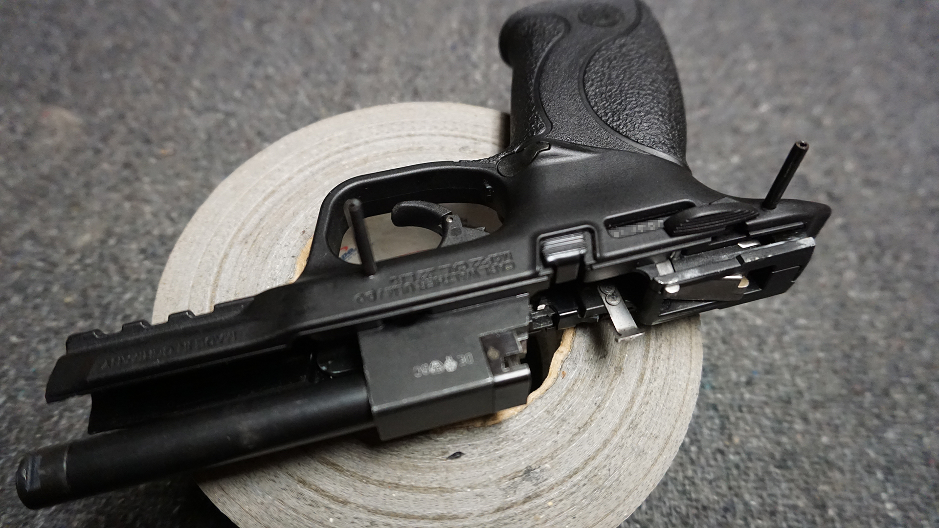 hight resolution of matching roll pins similar to the centerfire pistols can be snug