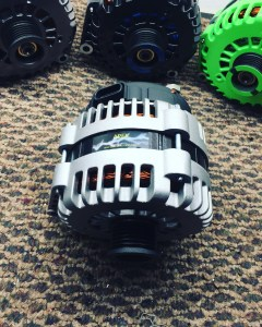 Collection of customized high output alternators