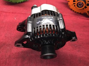 black high output alternator