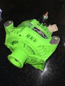 green apex high output alternator