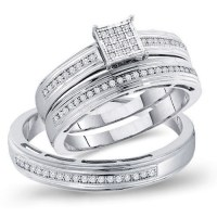 Engagement Rings His And Her Set | Wedding Rings For Women