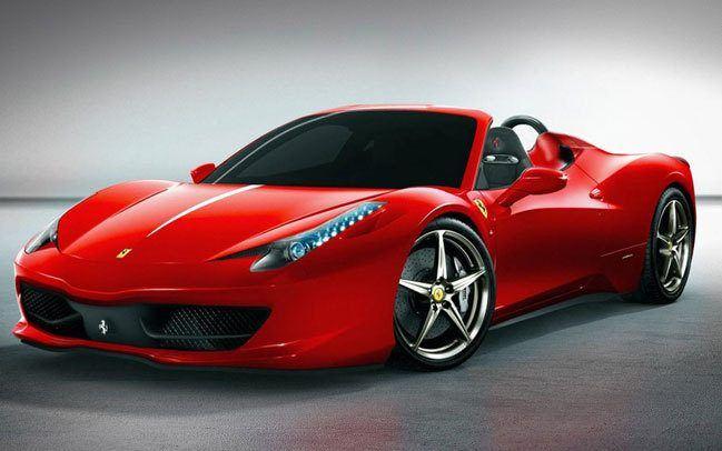 Ferrari 458 Italia Spider Rental  Apex