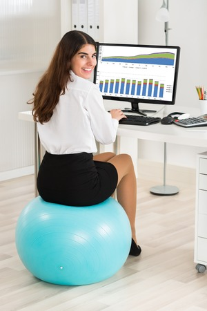 Should I be Sitting on an Exercise Ball at Work