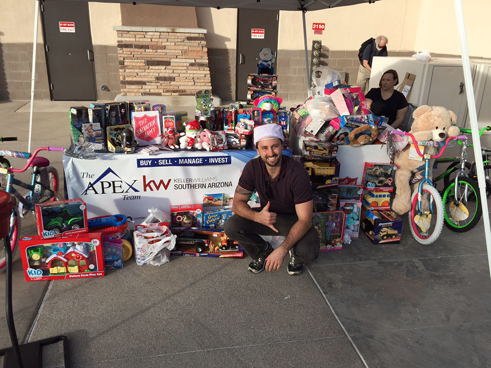 Toy Drive with the Salvation Army